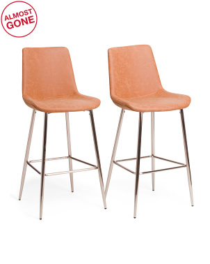 Set Of 2 Theo Barstools