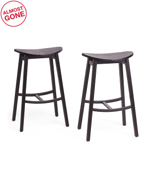 Set Of 2 York Counter Stools