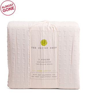 Skye Textured Comforter Set