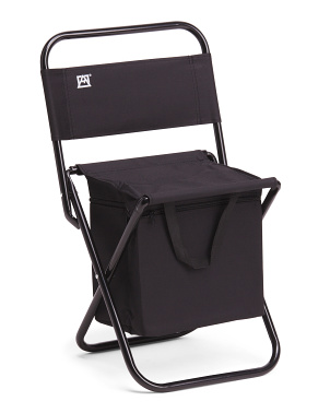 Folding Chair With Cooler
