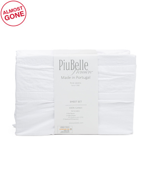 Made In Portugal Biba Sheet Set
