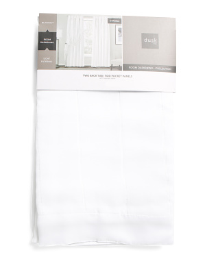 38x84 Set Of 2 Aida Room Darkening Curtains