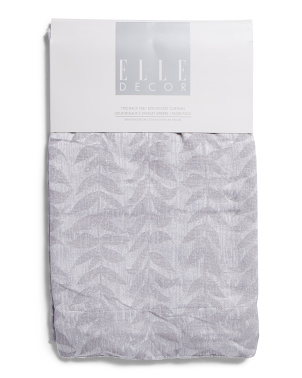 38x84 Set Of 2 Harper Botanical Room Darkening Curtains
