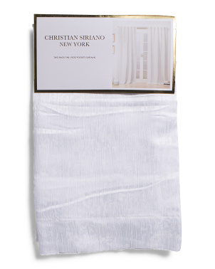 37x84 Set Of 2 Linen Look Curtains