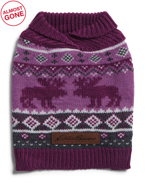 Moose Fair Isle Sweater