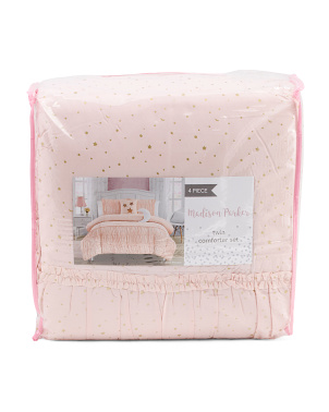 Celestial Princess Gathered Comforter Set