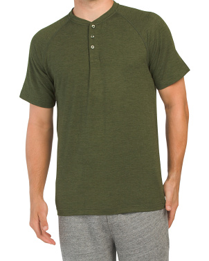 Intent Short Sleeve Henley