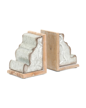 Set Of 2 Bookends