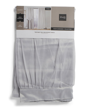 38x84 Set Of 2 Brielle Thermal Room Darkening Curtains