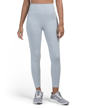 High Waist Leggings With Double Side Pockets