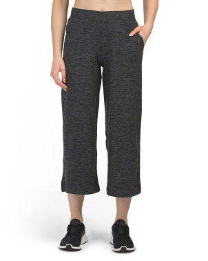 Soft Tech Fleece Lined Wide Capris