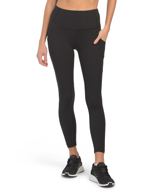 Lux Hi Rise Side Pocket Ankle Leggings