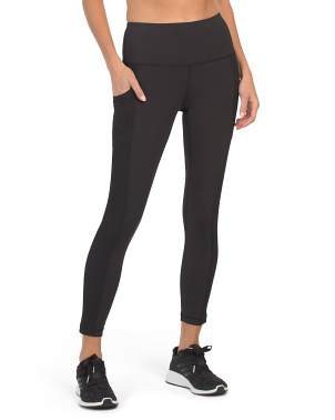 Interlock High Rise Ankle Leggings
