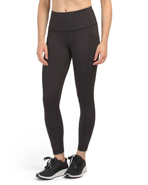 Interlink High Rise Side Pocket Ankle Leggings