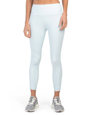 High Waist Dot Leggings