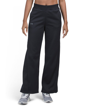 Synthetic Fleece Open Pants