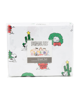 Mini Snoopy Holiday Lights Sheet Set