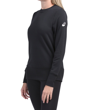 French Terry Crew Sweatshirt