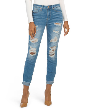 Juniors High Rise Juniper Jeans