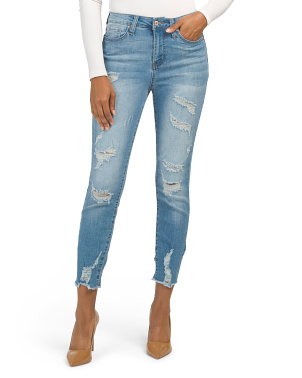Juniors High Rise Montague Jeans