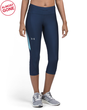 High Waist Mileage Thread Capris