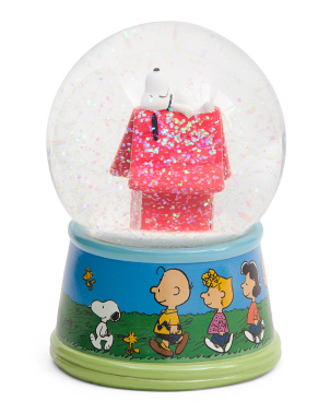 Snoopy House Peanuts Snow Globe