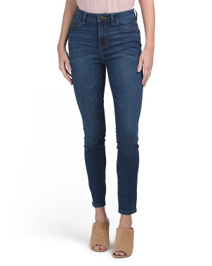 High Waist Muffin Top Eliminator Skinny Jeans