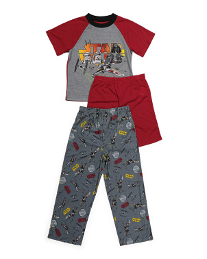 Boys 3pc Star Wars Sleep Set