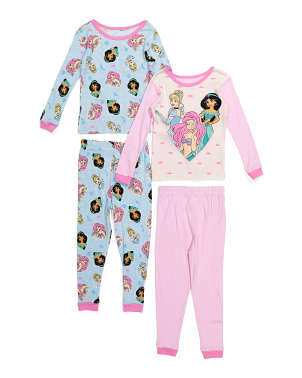Girls 4pc Princess Sleep Set