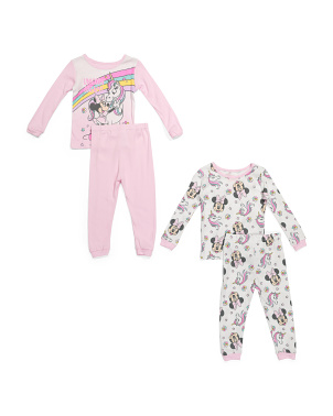 Toddler Girls 4pc Minnie Mouse Sleep Set