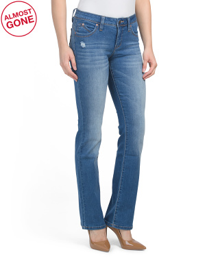 Booty Enhancing Tummy Control Slim Bootcut Jeans