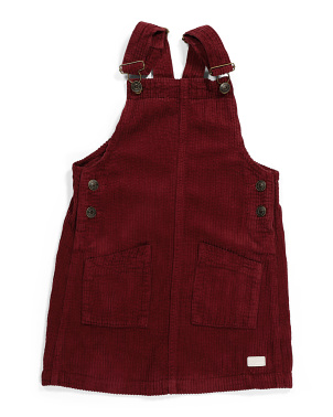 Little Girls Corduroy Jumper