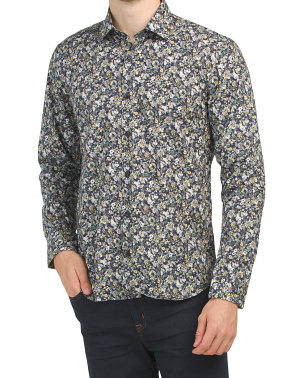 Trim Fit Paisley Shirt