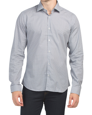 Trim Fit Print Shirt