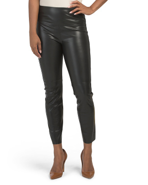High Waist Faux Leather Gemma Leggings