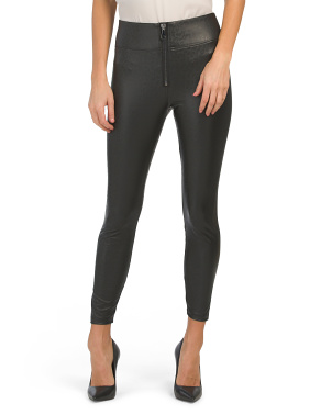 Layla High Waist Faux Leather Leggings