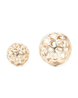 Set Of 2 Orb Spheres
