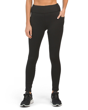 Brushed Interior Ankle Leggings