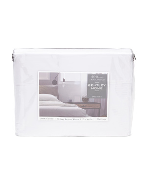 400tc Cotton Sheet Set