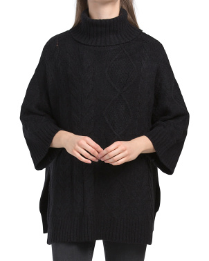 Lex Turtleneck Poncho