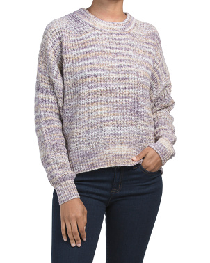 Michelle Boxy Pullover Sweater