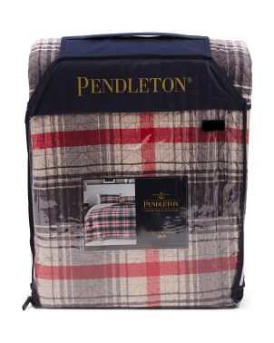 Glenview Plaid Quilt Set