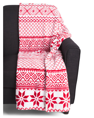 Nohl Nordic Loft Fleece Throw