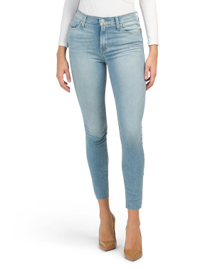 Blair High Waist Super Skinny Ankle Jeans