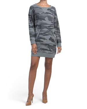 Courtside Sweatshirt Dress