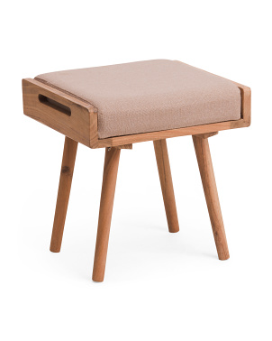 Valencia Acacia Wood Stool
