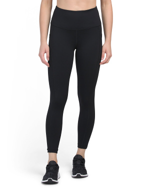 Powerflex Hi Rise Side Pocket Ankle Leggings