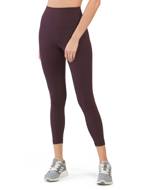 Wonderflex Elastic Free Hi Rise Basic Ankle Leggings