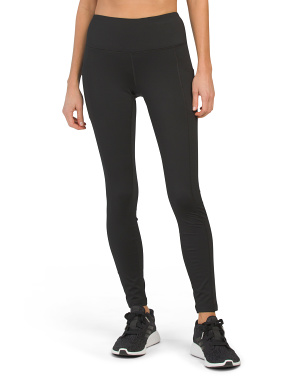 Soft Tech Fleece Lined High Rise Leggings