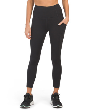 Tech Link Hi Rise Side Pocket Ankle Leggings